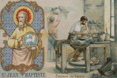 St John the Baptist and Potters--Giclee Print