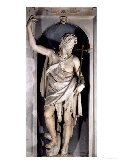 St. John the Baptist, Niche from the Salviati Chapel-Giambologna-Giclee Print