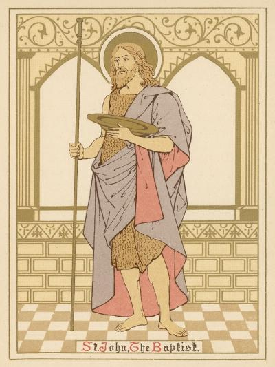 St John the Baptist-English School-Giclee Print