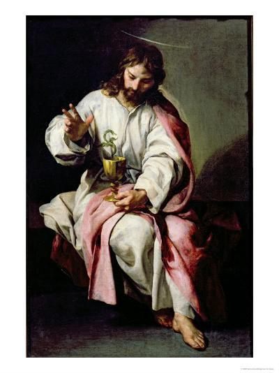 St. John the Evangelist and the Poisoned Cup, 1636-38-Alonso Cano-Giclee Print