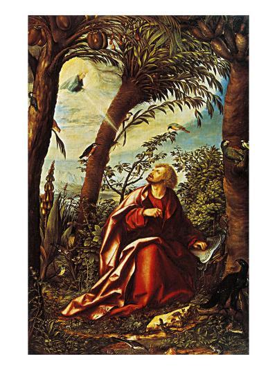 St John the Evangelist in Patmos--Giclee Print