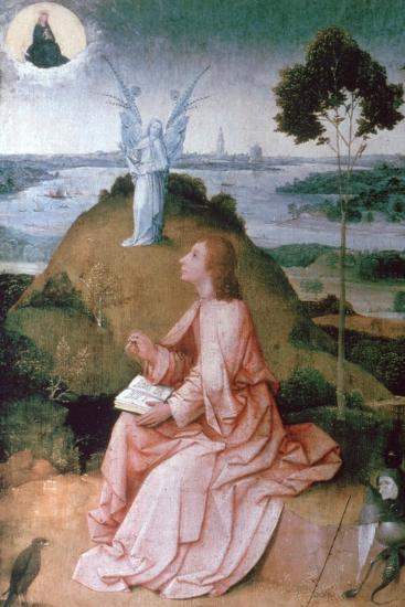 St John the Evangelist on Patmos, 1504-1505-Hieronymus Bosch-Giclee Print