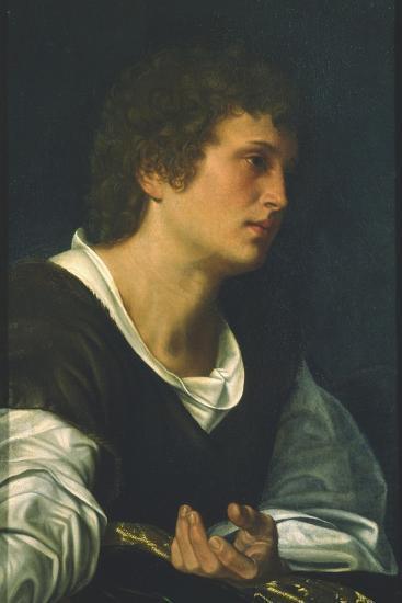 St. John the Evangelist-Giovanni Girolamo Savoldo-Giclee Print