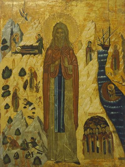 St John the Hermit, Icon-Ennemond Alexandre Petitot-Giclee Print