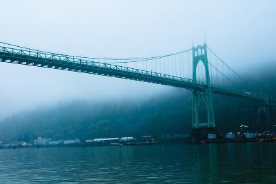 St. Johns Bridge IX-Erin Berzel-Photographic Print