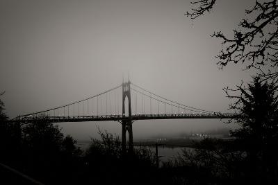 St. Johns Bridge V-Erin Berzel-Photographic Print