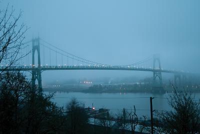 St. Johns Bridge VII-Erin Berzel-Photographic Print