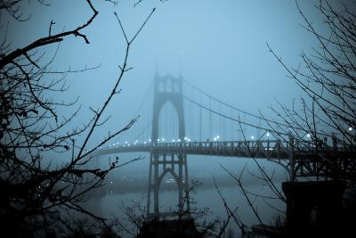 St. Johns Bridge VIII-Erin Berzel-Photographic Print