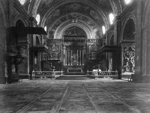 St Johns Co-Cathedral, Valletta, Malta, C1910S