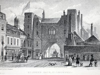 St Johns Gate-Thomas Hosmer Shepherd-Giclee Print