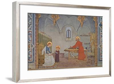 St. Joseph at Work-Modesto Faustini-Framed Art Print