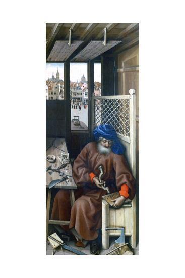 St Joseph, C1425-Robert Campin-Giclee Print