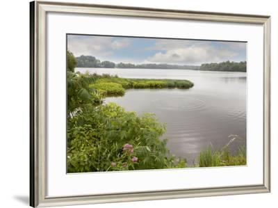 St. Joseph River, Centreville, Michigan '10-Monte Nagler-Framed Photographic Print