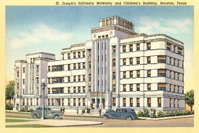 St. Joseph's Infirmary, Houston--Art Print