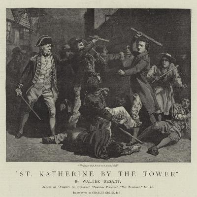 St Katherine by the Tower-Charles Green-Giclee Print