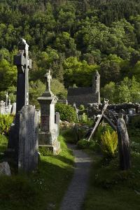 St Kevin's Church (Sometimes Called St Kevin's Kitchen), Glendalough, County Wicklow, Ireland