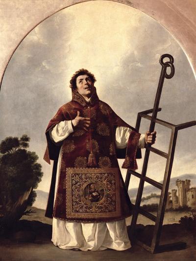 St. Lawrence-Francisco de Zurbar?n-Giclee Print