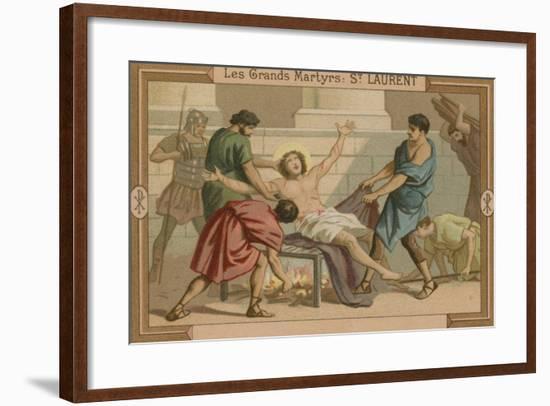 St Lawrence--Framed Giclee Print