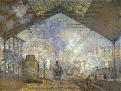 St. Lazare Station-Claude Monet-Giclee Print