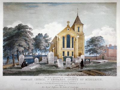 St Leonard's Church, Bromley-By-Bow, London, C1860-H Jones-Giclee Print