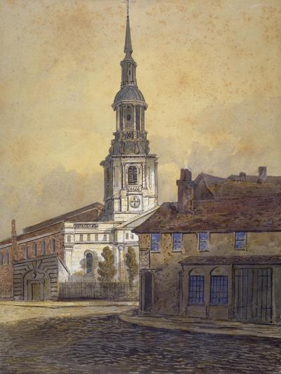 St Leonard's Church, Shoreditch, London, C1815-George Dance-Giclee Print