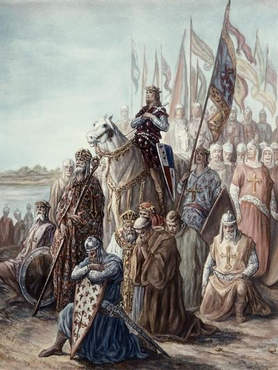St. Louis Before Damietta, Egypt, 6th Crusade-Gustave Dor?-Giclee Print