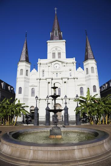 St. Louis Cathedral-benkrut-Photographic Print
