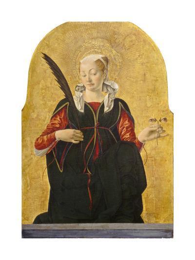 St Lucy, C. 1473- 74-Francesco del Cossa-Giclee Print