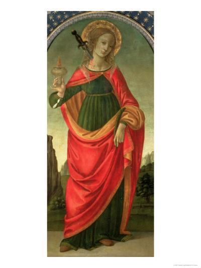 St. Lucy, circa 1472-74-Filippino Lippi-Giclee Print