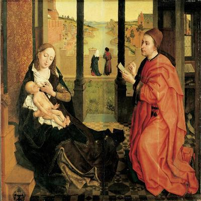 St. Luke Painting the Virgin-Rogier van der Weyden-Art Print