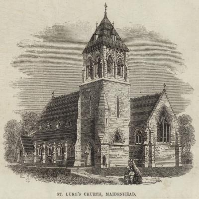 St Luke's Church, Maidenhead--Giclee Print