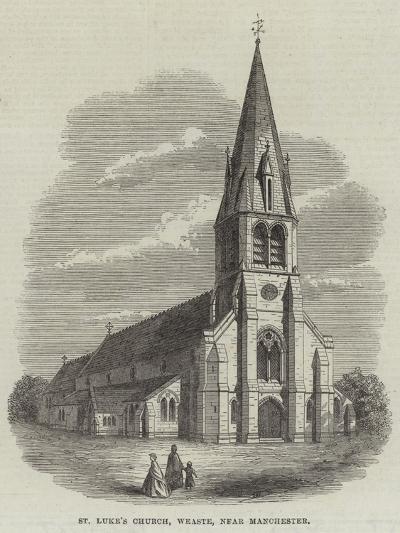 St Luke's Church, Weaste, Near Manchester--Giclee Print