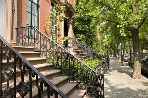 St. Luke's Place in Greenwich Village, New York