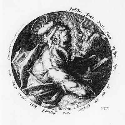 St. Luke-Hendrik Goltzius-Giclee Print