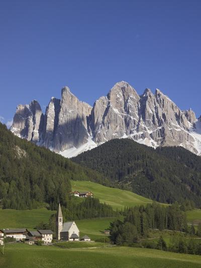 St. Maddalena Church in Val di Funes-Richard Klune-Photographic Print
