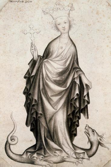 St Margaret, 15th Century--Giclee Print