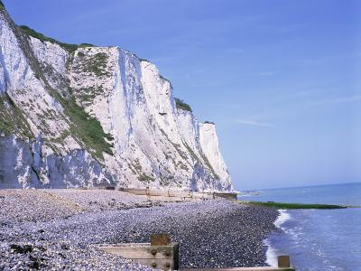 St. Margaret's at Cliffe, White Cliffs of Dover, Kent, England, United Kingdom-David Hughes-Photographic Print