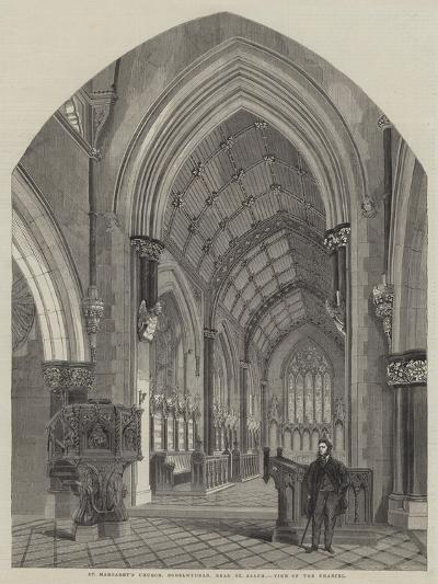 St Margaret's Church, Bodelwyddan, Near St Asaph, View of the Chancel--Giclee Print
