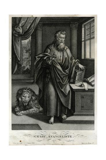 St Mark, Evangelist, Bulla--Giclee Print