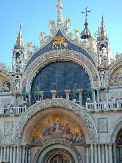 St. Mark's Basilica in St. Mark's Square, Venice, Italy-Lisa S^ Engelbrecht-Photographic Print