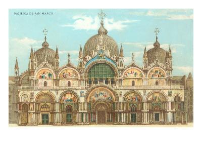 St. Mark's Basilica--Art Print