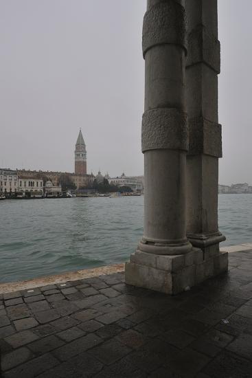 St Mark's Campanile Seen from Punta Della Dogana Museum--Photographic Print