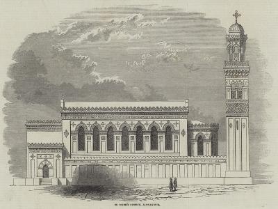 St Mark's Church, Alexandria--Giclee Print