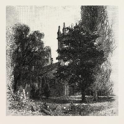 St. Mark's Church, Niagara, Canada, Nineteenth Century--Giclee Print