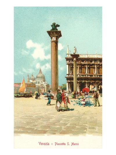 St. Mark's Square, Venice, Italy--Art Print