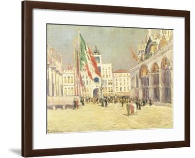 St. Mark's Square, Venice-Paul Mathieu-Framed Giclee Print