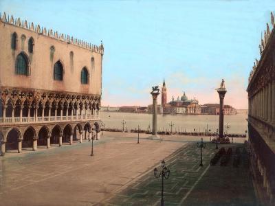 St Mark's Square, Venice--Giclee Print