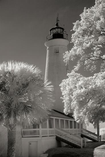 St. Marks Lighthouse-George Johnson-Photographic Print