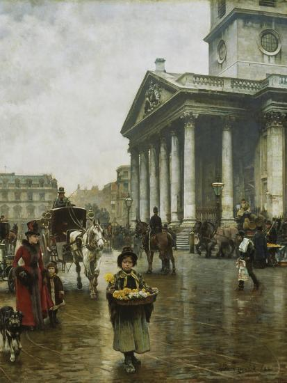 St Martin-In-The-Fields-William Logsdail-Giclee Print