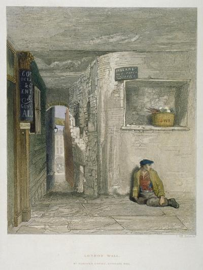 St Martin's Court, Ludgate Hill, City of London, 1851-John Wykeham Archer-Giclee Print